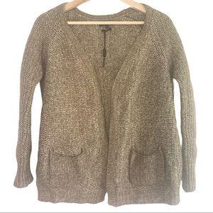 Massimo Dutti Chunky Knit Sweater Cardigan